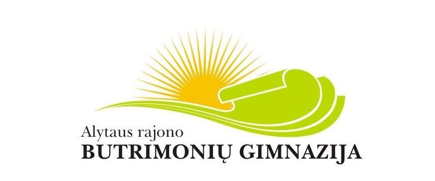Butrimonių gimnazijos logotipas