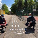 Butrimonių gimnazijos edukacinėse erdvėse pražydo šypsena